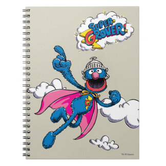 Vintage Super Grover Spiral Notebook