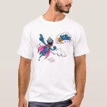 "Vintage Super Grover T-Shirt<br><div class=""desc"">Check out Super Grover in this vintage graphic!         &#169;  2014 Sesame Workshop. www.sesamestreet.org</div>"