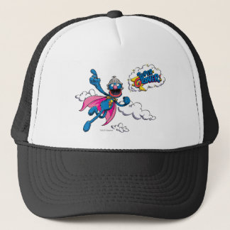 Vintage Super Grover Trucker Hat