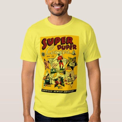 Vintage super hero comic cartoon art t shirt zazzle for Retro superhero t shirts