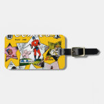 Vintage Super Hero Comic Tag For Bags