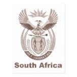 Vintage Suráfrica Postal
