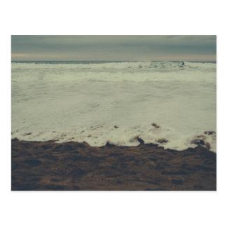 Vintage Surf Beach Postcard