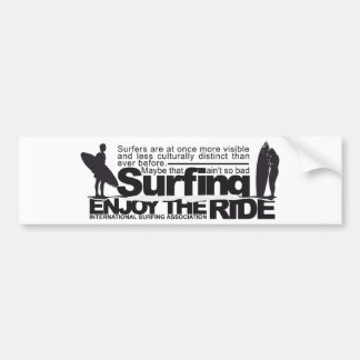 Vintage Surf Bumper Sticker