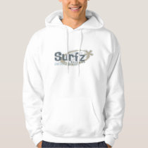Vintage Surf Men's Basic Hooded Sweatshirt