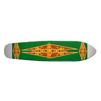 Vintage Surf Style Skateboard