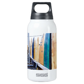Vintage Surfboards on Montauk Beach SIGG Thermo 0.3L Insulated Bottle