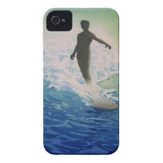 Vintage Surfer iPhone 4 Case-Mate Case