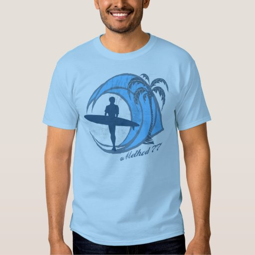 Vintage surfer wave t shirt zazzle for Science olympiad t shirt designs