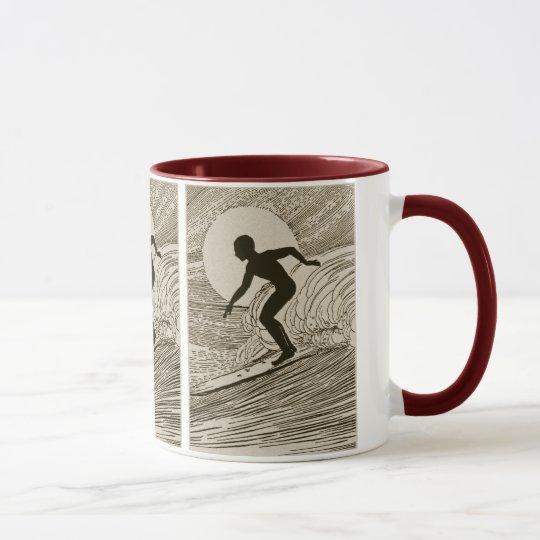 Vintage Surfing Mug
