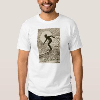 Vintage Surfing Tee Shirt