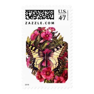 Vintage Swallowtail Butterfly Postage