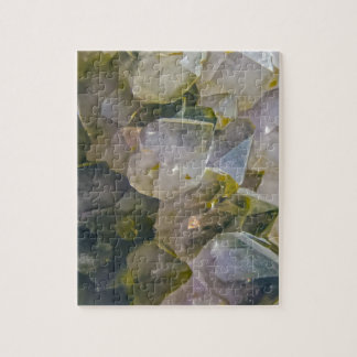 Vintage Swamp Crystals Jigsaw Puzzle