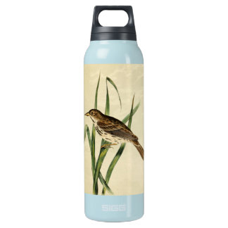 Vintage Swamp Swallow Insulated Water Bottle