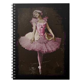 Vintage Swan Lake Notebook
