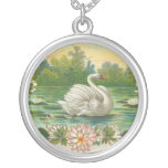Vintage Swan Pendant