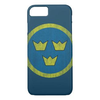 Vintage Sweden iPhone 7 Case
