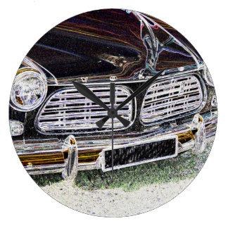 Vintage Swedish Car detail Wall Clocks