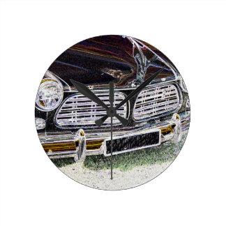 Vintage Swedish Car detail Wallclock