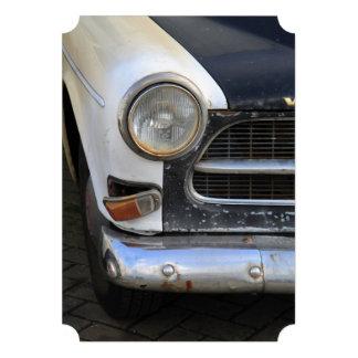 Vintage Swedish Car detail Custom Announcements