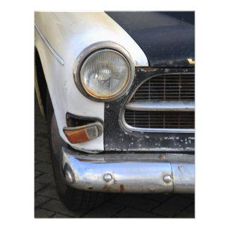 Vintage Swedish Car detail Custom Invitation