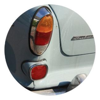 Vintage Swedish Car detail Custom Invitations