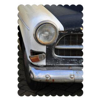 Vintage Swedish Car detail Custom Invites