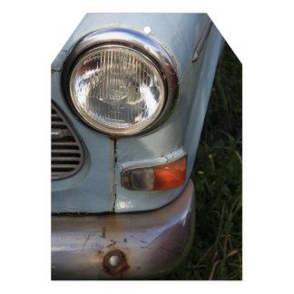 Vintage Swedish Car detail Invitations