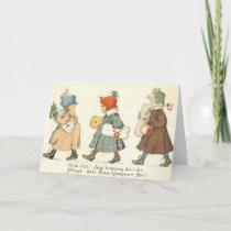 Vintage Swedish Christmas Greeting Card