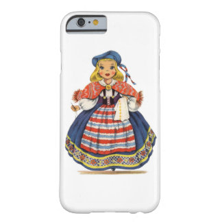 Vintage Swedish Doll Barely There iPhone 6 Case