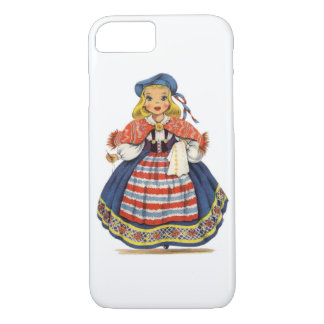 Vintage Swedish Doll iPhone 7 Case