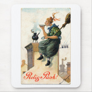 Vintage Swedish Easter painting pad Mouse Pad