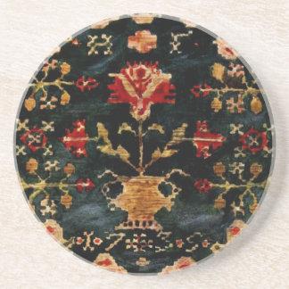 Vintage Swedish Tapestry Coaster