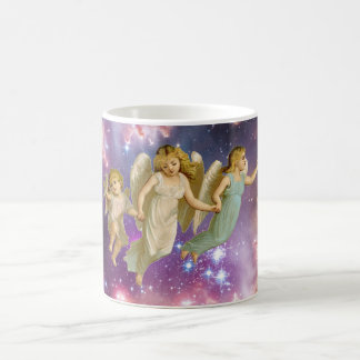 Vintage Sweet Angels Flying Coffee Mug
