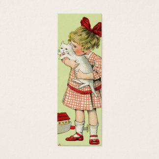 Vintage Sweet Girl Gift Tag or Love Note