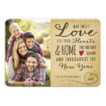 Vintage Sweet Love Holiday Photo Card Personalized Invitation