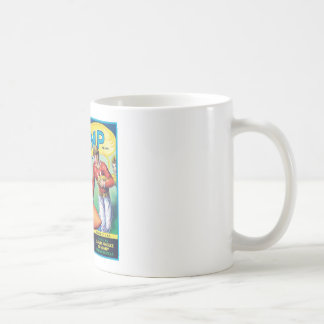 Vintage Sweet Potatoes Food Product Label Coffee Mug