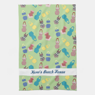 Vintage Swimsuits Hand Towel