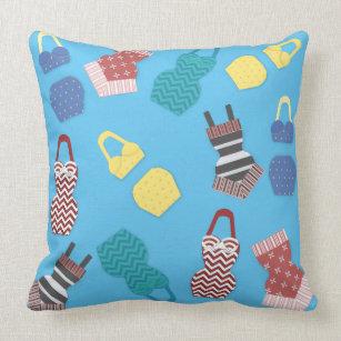 bd128b4800e01 Swimsuit Pillows - Decorative & Throw Pillows | Zazzle