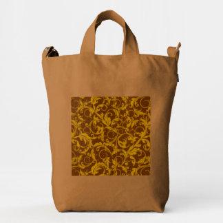 Vintage Swirls Mango Cinnamon Duck Bag