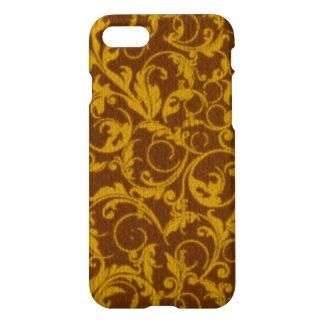 Vintage Swirls Mango Cinnamon iPhone 8/7 Case