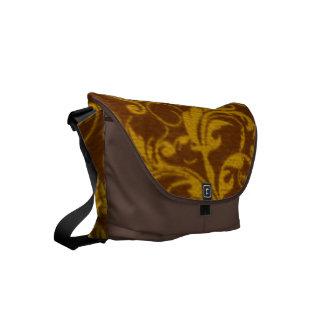 Vintage Swirls Mango Cinnamon Small Messenger Bag
