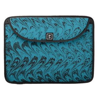 Vintage Swirls Teal Macbook Pro Flap Sleeve Sleeve For MacBook Pro