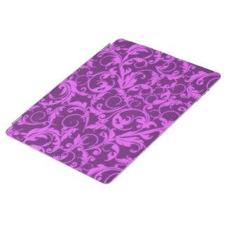 Vintage Swirls Winterberry Orchid Purple iPad Cover