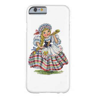 Vintage Swiss Doll Barely There iPhone 6 Case