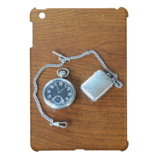 Vintage Swiss Pocket Watch iPad Mini Covers