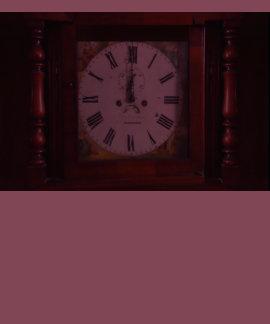 Vintage Swiss Wall Clock elegant design tan border Tshirts