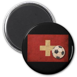 Vintage Switzerland Football Refrigerator Magnets