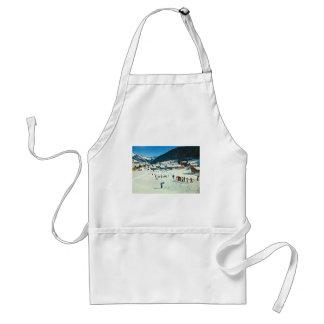 Vintage Switzerland Morgins Ecole de ski Apron
