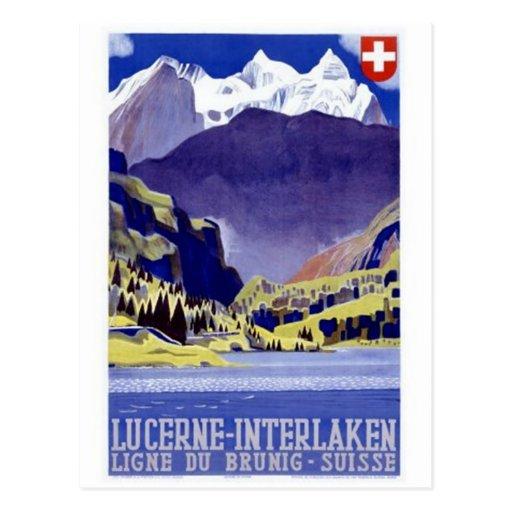 Vintage Switzerland - Post Card